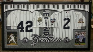 Sample of a Stadium Studio Quality Framed Jersey
