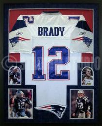 Brady Framed Jersey