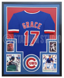 Grace, Mark Framed Jersey