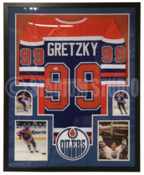Gretzky Framed Jersey