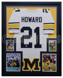 Howard, Desmond Framed Jersey