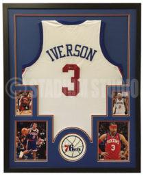 Iverson Framed Jersey