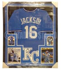 Jackson, Bo Framed Jersey