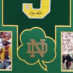 Montana, Joe Framed Notre Dame Jersey_Photos