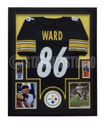 Ward, Hines Framed Jersey
