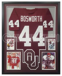 Bosworth, Kevin Framed Jersey