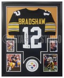 Bradshaw, Terry Framed Jersey