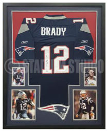 Brady, Tom Framed Jersey