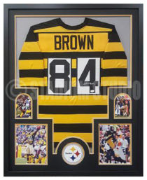 Brown, Antonio Framed Jersey2