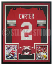 Carter, Cris Framed Jersey_Ohio State2