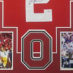 Carter, Cris Framed Jersey_Ohio State_Photos