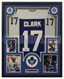 Clark, Wendel Framed Jersey