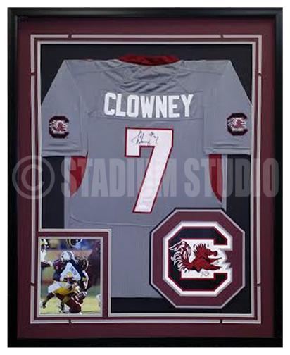 Jadeveon Clowney Autographed Framed South Carolina Jersey