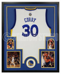 Curry, Steph Framed Jersey