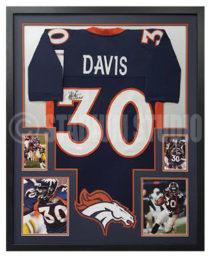 Davis, Terrell Framed Jersey