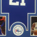 Embiid, Joel Framed Jersey_Photos