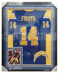 Fouts, Dan Framed Jersey