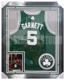 Garnett, Kevin Framed Jersey