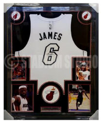 James, Lebron Framed Jersey_Heat