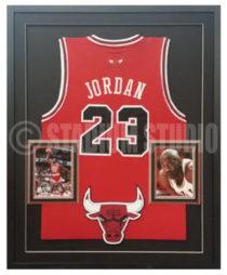 Jordan, Michael Framed Jersey