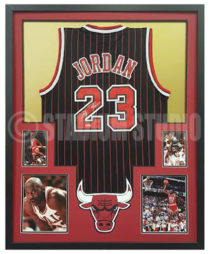 Jordan, Michael Framed Jersey_Bulls