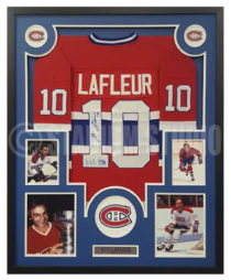 Lafleur, Guy Framed Jersey