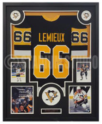 Lemieux, Mario Framed Jersey