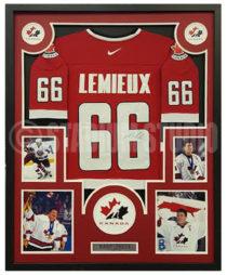 Lemieux, Mario Framed Jersey_Canada