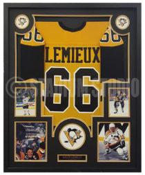Lemieux, Mario Framed Jersey_Penguins2