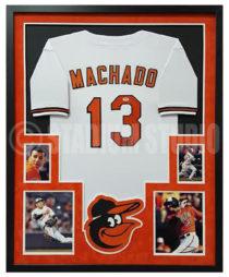 Machado, Manny Framed Jersey