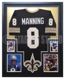 Manning, Archie Framed Jersey