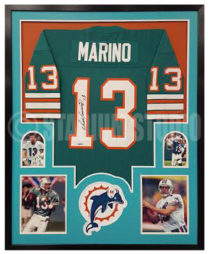 Marino, Dan Framed Jersey2