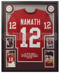 Namath, Joe Framed Jersey_Alabama