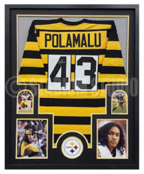 Polamalu, Troy Framed Jersey