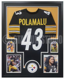 Polamalu, Troy Framed Jersey3