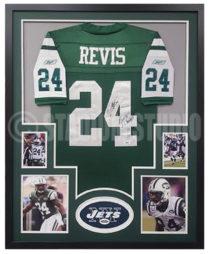 Revis, Darrelle Framed Jersey_Jets