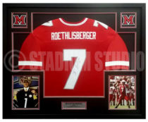 Roethlisberger, Ben Framed Jersey_Miami of Ohio