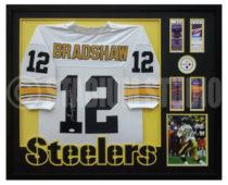 Bradshaw, Terry Framed Steelers Jersey2