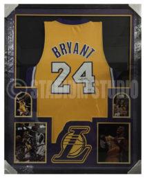 Bryant, Kobe Framed Lakers Jersey