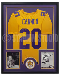 Cannon, Billy Framed LSU Jersey