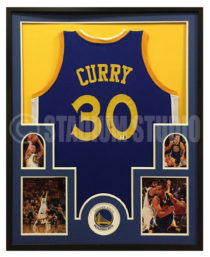 Curry, Steph Framed Warriors Jersey