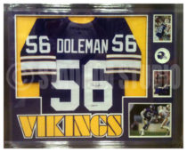 Doleman, Chris Framed Vikings Jersey