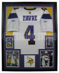 Favre, Brett Vikings Jersey_White