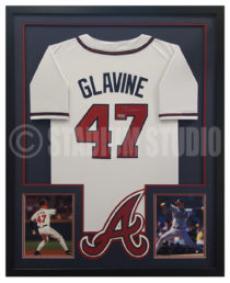 Glavine, Tom Framed Braves Jersey