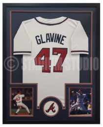 Glavine, Tom Framed Braves Jersey2