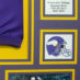 Peterson, Adrian Framed Vikings Jersey_Photos