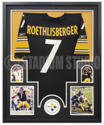 Roethlisberger, Ben Framed Jersey_Steelers2