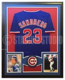Sandberg, Ryan Framed Cubs Jersey
