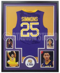 Simmons, Ben Framed Jersey_LSU