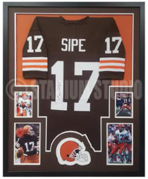 Sipe, Brian Framed Jersey